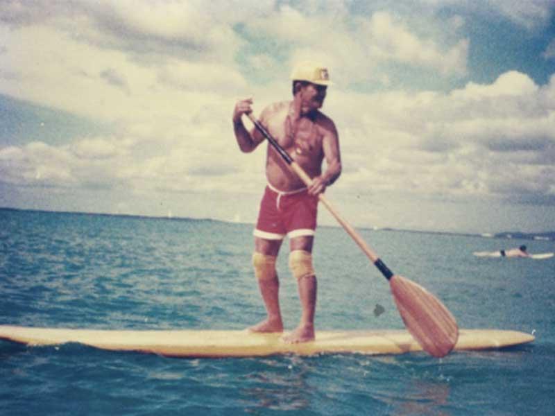 SUP legend Duke