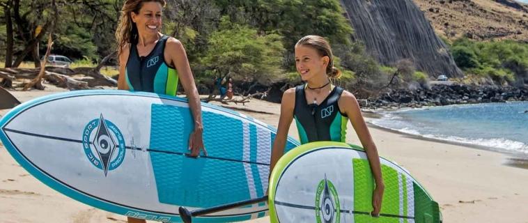 10 совети за како да ги научите децата да сурфаат