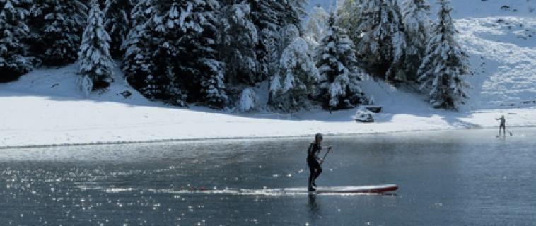 Неколку одлични причини за веслње во зима